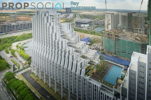 For Rent Condominium at Paragon, Cyberjaya Freehold Fully Furnished 3R/2B 2k