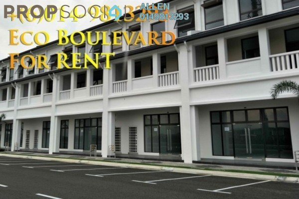 For Rent Shop at Eco Business Park I, Johor Bahru Freehold Unfurnished 0R/4B 11.5k