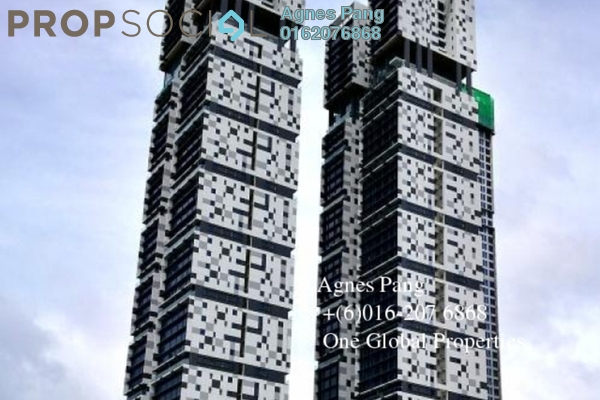 For Sale Condominium at Setia Sky 88, Johor Bahru Freehold Semi Furnished 1R/2B 853k