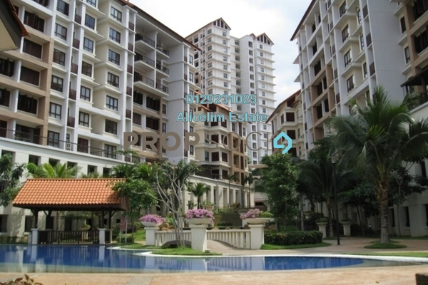 For Rent Condominium at Surian Condominiums, Mutiara Damansara Freehold Fully Furnished 3R/2B 2.1k
