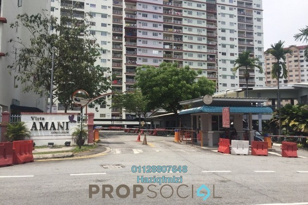 For Sale Condominium at Vista Amani, Bandar Sri Permaisuri Leasehold Unfurnished 3R/2B 400k