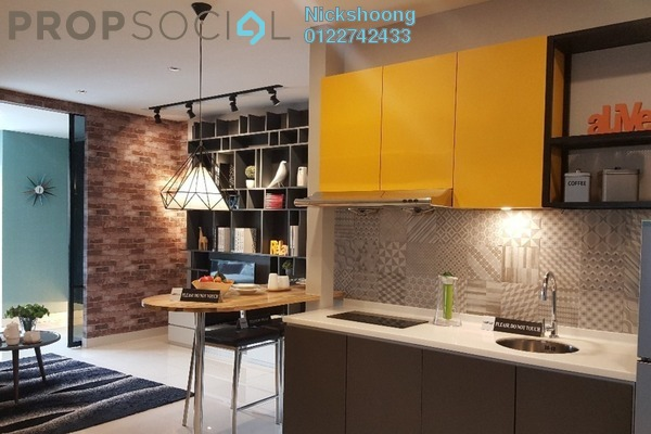 For Sale Condominium at Liberty @ Arc Central, Ukay Freehold Fully Furnished 1R/1B 299k