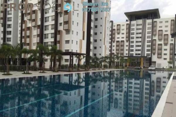 For Rent Apartment at Seri Kasturi, Setia Alam Freehold Semi Furnished 3R/2B 900translationmissing:en.pricing.unit