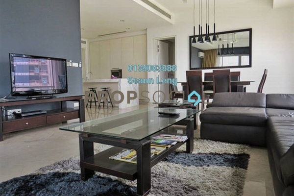 For Rent Serviced Residence at Pavilion Residences, Bukit Bintang Leasehold Fully Furnished 3R/4B 11k
