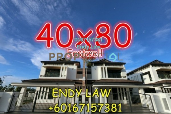 For Sale Semi-Detached at Eco Botanic, Skudai Freehold Unfurnished 5R/5B 1.95m