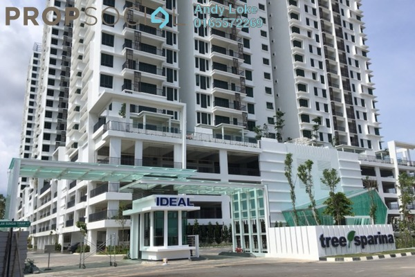 For Rent Condominium at Ideal Vision Park, Sungai Ara Freehold Semi Furnished 3R/2B 1.2k
