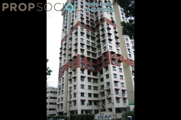 For Rent Apartment at Taman Pekaka, Sungai Dua Freehold Semi Furnished 3R/2B 1.15k