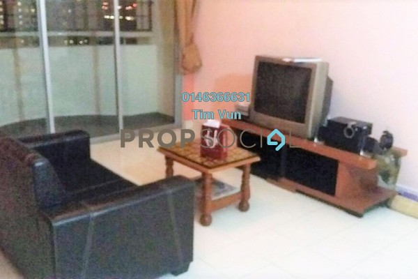 For Rent Apartment at Lagoon Perdana, Bandar Sunway Leasehold Fully Furnished 3R/2B 1.1k