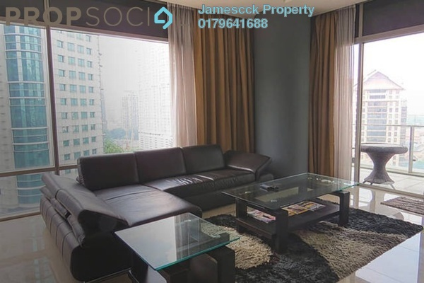 For Rent Serviced Residence at Pavilion Residences, Bukit Bintang Leasehold Fully Furnished 4R/5B 10k