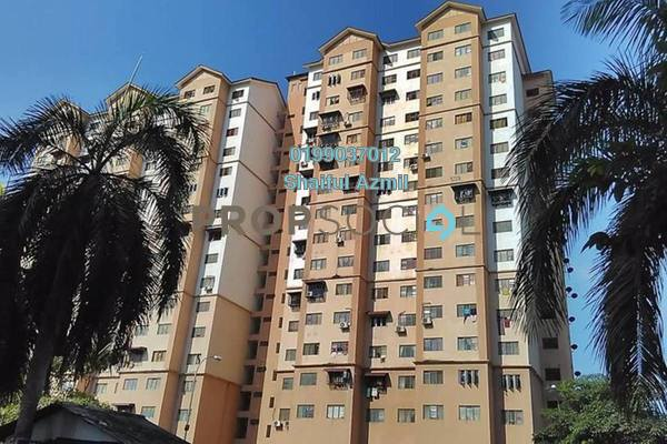 For Sale Apartment at Kasturi Apartment, Bandar Sri Permaisuri Leasehold Semi Furnished 3R/1B 190k