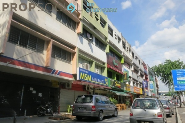 For Rent Shop at Taman Maluri, Cheras Leasehold Semi Furnished 0R/0B 8.5k
