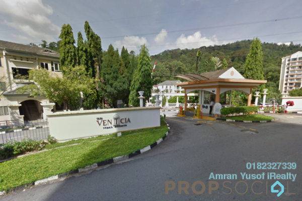 For Sale Condominium at Casa Venicia Condominium, Selayang Leasehold Semi Furnished 3R/2B 369k
