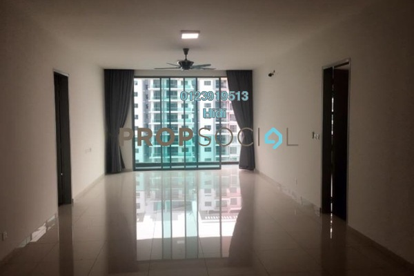 For Rent Condominium at X2 Residency, Puchong Leasehold Semi Furnished 4R/4B 1.7k