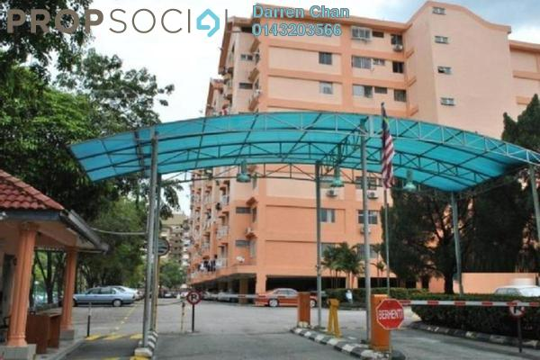 For Rent Condominium at Brem Park, Kuchai Lama Leasehold Unfurnished 3R/2B 1.3k