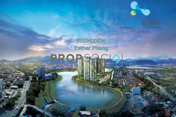For Sale Condominium at Lakeville Residence, Jalan Ipoh Leasehold Semi Furnished 3R/2B 790k