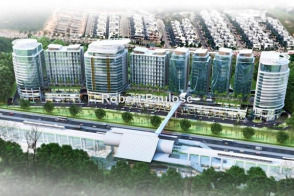 For Rent Office at UOA Business Park, Saujana Freehold Unfurnished 0R/0B 7.5k