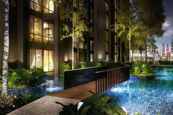 For Rent Condominium at M City, Ampang Hilir Leasehold Semi Furnished 1R/1B 1.8k
