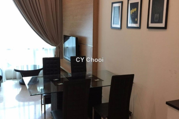 For Rent SoHo/Studio at Soho Suites, KLCC Leasehold Semi Furnished 2R/2B 3k
