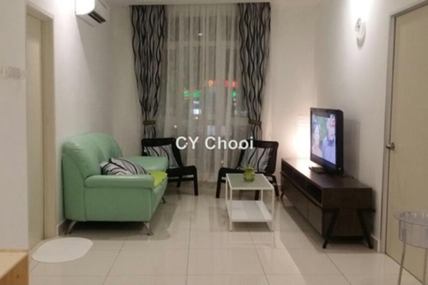 For Rent Serviced Residence at Central Residence, Sungai Besi Leasehold Semi Furnished 2R/2B 1.9k