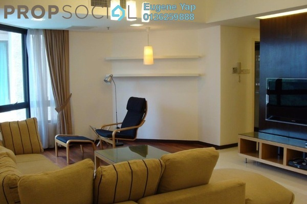 For Rent Condominium at i-Zen Kiara II, Mont Kiara Freehold Fully Furnished 3R/3B 6k
