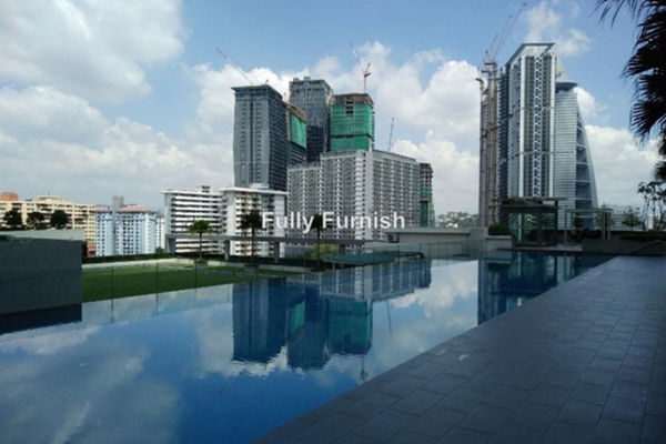 For Rent Serviced Residence at Camellia, Bangsar South Leasehold Fully Furnished 2R/1B 3.5k
