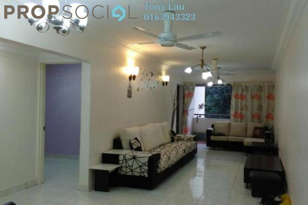 For Rent Apartment at Ketumbar Heights, Cheras Freehold Semi Furnished 3R/2B 1.4k