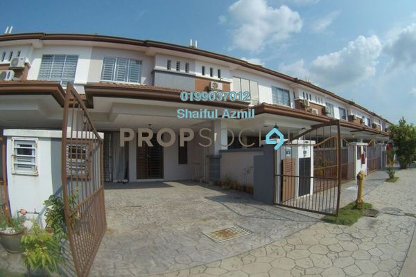 For Sale Terrace at Taman Alam Indah, Shah Alam Leasehold Semi Furnished 5R/3B 630k