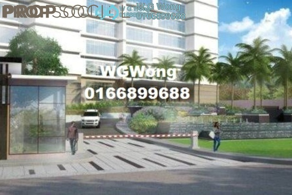 For Sale Serviced Residence at Liberty @ Arc Central, Ukay Freehold Fully Furnished 1R/1B 315k