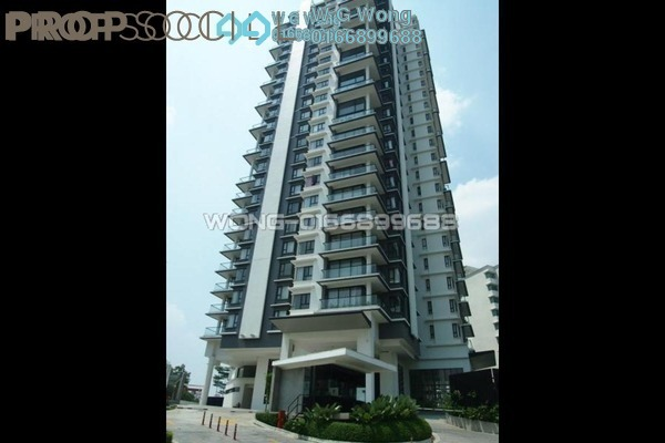 For Rent Condominium at Lumina Kiara, Mont Kiara Freehold Fully Furnished 3R/2B 4.5k