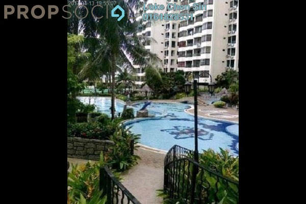 For Rent Apartment at Sunny Ville, Batu Uban Freehold Semi Furnished 3R/2B 1.5k
