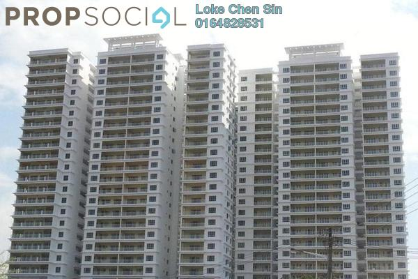 For Rent Condominium at The One, Bayan Baru Leasehold Fully Furnished 3R/2B 1.5k