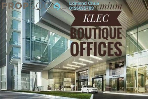 For Rent Office at The Pillars @ KL Eco City, Mid Valley City Leasehold Unfurnished 0R/0B 25.4k