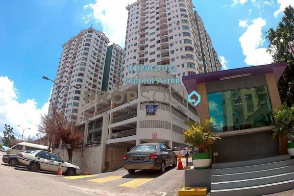 For Sale Condominium at Kepong Central Condominium, Kepong Leasehold Semi Furnished 3R/2B 295k