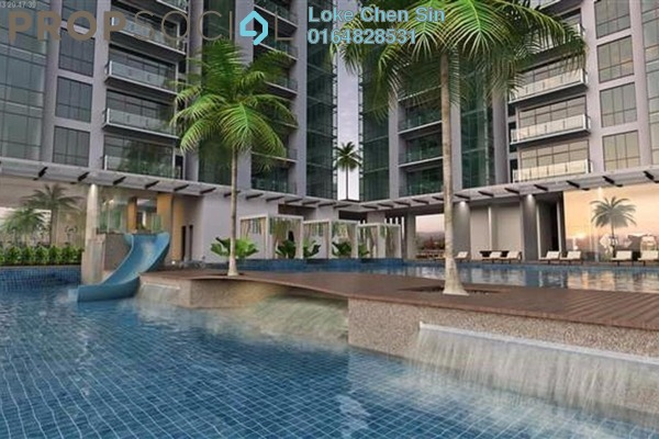 For Rent Condominium at The Latitude, Tanjung Tokong Freehold Fully Furnished 4R/3B 2.3k