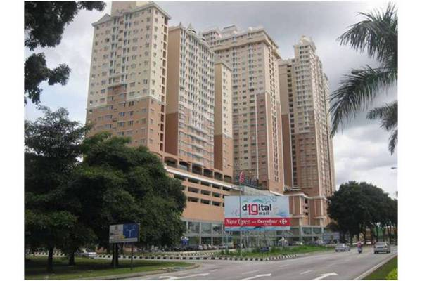 For Sale Condominium at Rhythm Avenue, UEP Subang Jaya Freehold Semi Furnished 2R/1B 370k