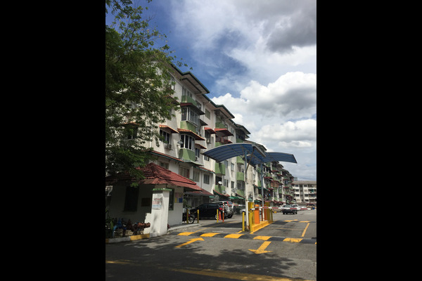 For Rent Apartment at Nuri Court, Pandan Indah Leasehold Unfurnished 3R/2B 1.2k