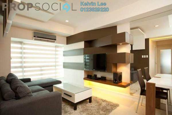 For Rent Condominium at Gateway Kiaramas, Mont Kiara Freehold Fully Furnished 2R/3B 4.2k