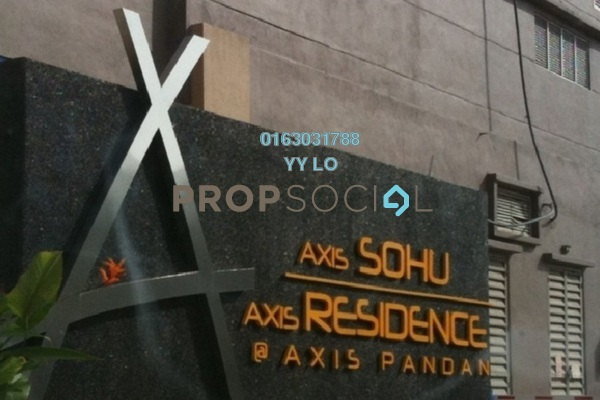 For Rent Duplex at Axis SoHu, Pandan Indah Leasehold Fully Furnished 1R/1B 1.6k