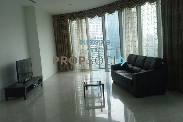 For Rent Condominium at K Residence, KLCC Freehold Fully Furnished 3R/2B 11.8k