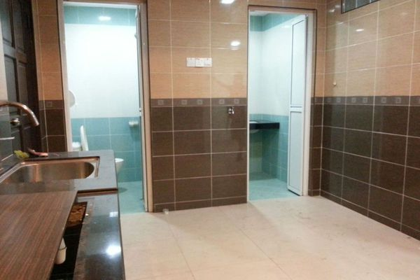For Rent Terrace at Kepong Baru, Kepong Freehold Semi Furnished 2R/3B 1.5k