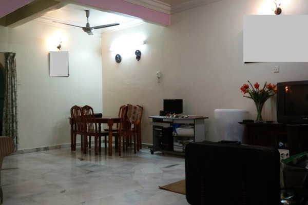 For Sale Terrace at Mutiara Bukit Raja 1, Klang Freehold Semi Furnished 4R/3B 625k