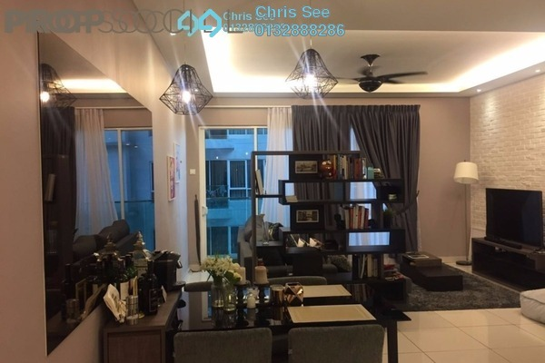 For Rent Condominium at Glomac Damansara, TTDI Freehold Fully Furnished 3R/2B 3k