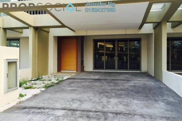 For Rent Superlink at D'Island, Puchong Leasehold Unfurnished 5R/6B 2k