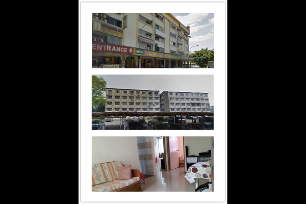 For Rent Apartment at Taman Dagang, Ampang Leasehold Semi Furnished 2R/1B 750translationmissing:en.pricing.unit