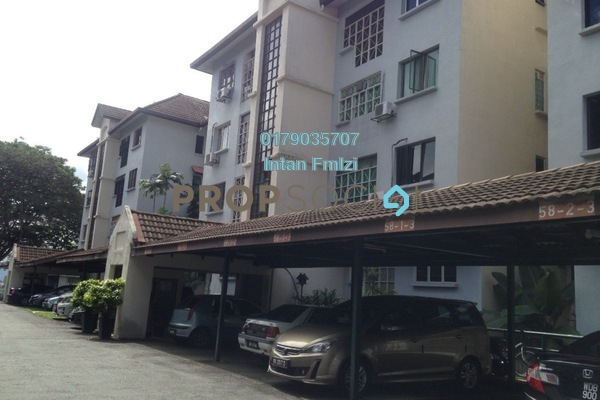 For Sale Apartment at Sri Ayu, Setiawangsa Freehold Unfurnished 3R/2B 500k