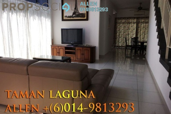 For Rent Terrace at Taman Laguna, Danga Bay Freehold Fully Furnished 6R/6B 2.8k