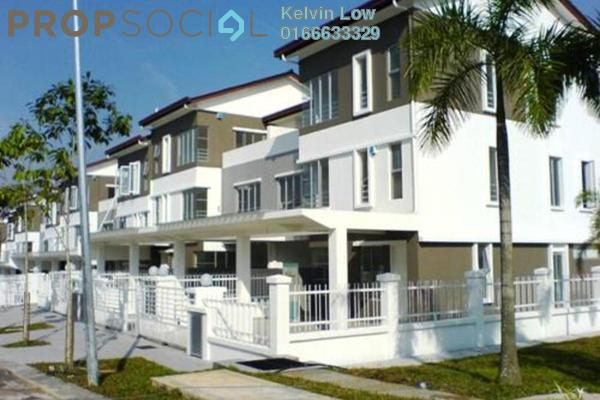 For Sale Townhouse at D'Alpinia, Puchong Leasehold Semi Furnished 3R/3B 628k