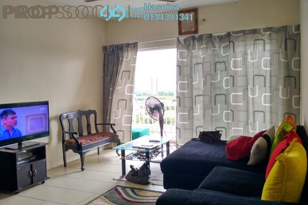 For Sale Condominium at Platinum Lake PV12, Setapak Leasehold Semi Furnished 3R/2B 438k
