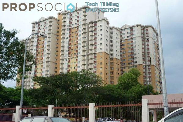 For Sale Condominium at Melur Apartment, Sentul Leasehold Semi Furnished 3R/2B 400k
