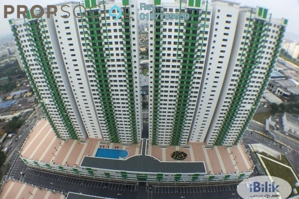 For Rent Condominium at OUG Parklane, Old Klang Road Freehold Fully Furnished 3R/2B 1.8k